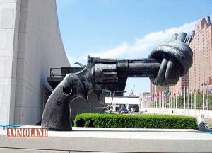 United Nation's Monument to Gun Control