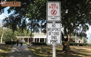 Highway Rest Areas And Your Firearms