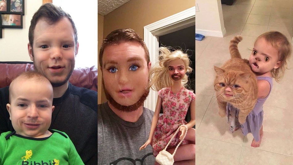 [VIRAL PHOTOS] FACE SWAPS: Not For The Faint Of Heart!