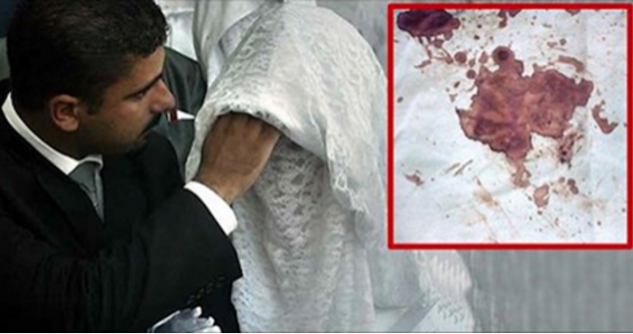 "This Is What Happens To Islamic Brides Who Fail The ""Virginity Test"" - Just Gruesome!"