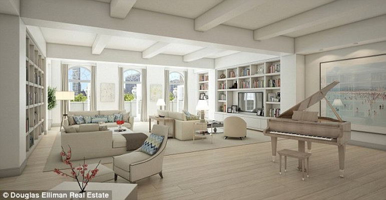 Here's Photos Of Chelsea Clinton's $10 Million Dollar Crib, That Stretches Over A City Block In NYC