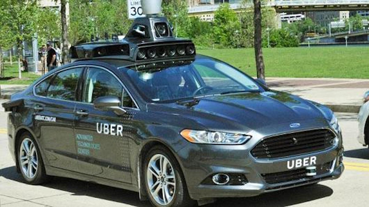 UBER DRIVERS NOT WANTED: Self Driving Cars In Pittsburgh