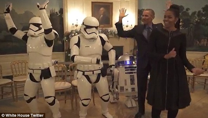 Watch The Dancing Obamas...