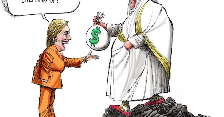 Clintons Rake In $100 Million Dollar Windfall From Saudi's - MSM Obsesses With Trump