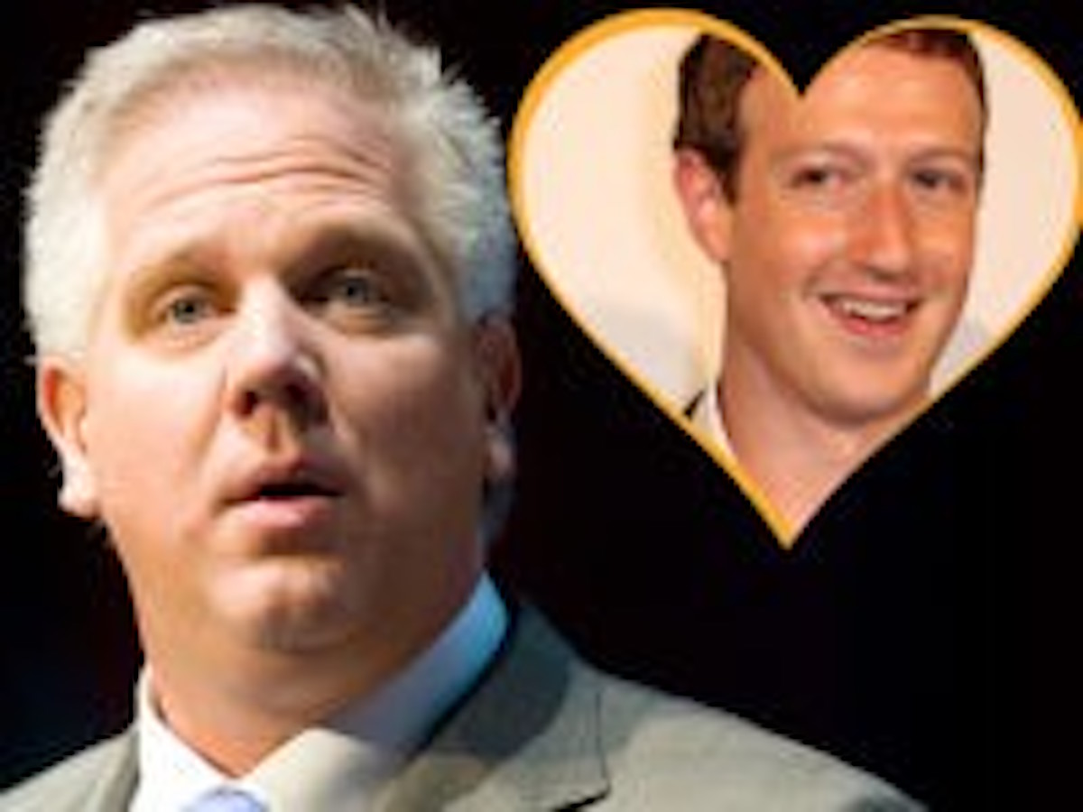 Tucker Carlson Exposes Glenn Beck As He Sucks Up To Zuckerberg In Facebook Meeting