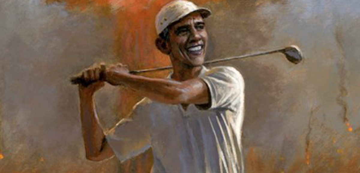 [WATCH] As Artist Tells Why Would This Portrait Of Barack Create Such A Stirring Controversy?