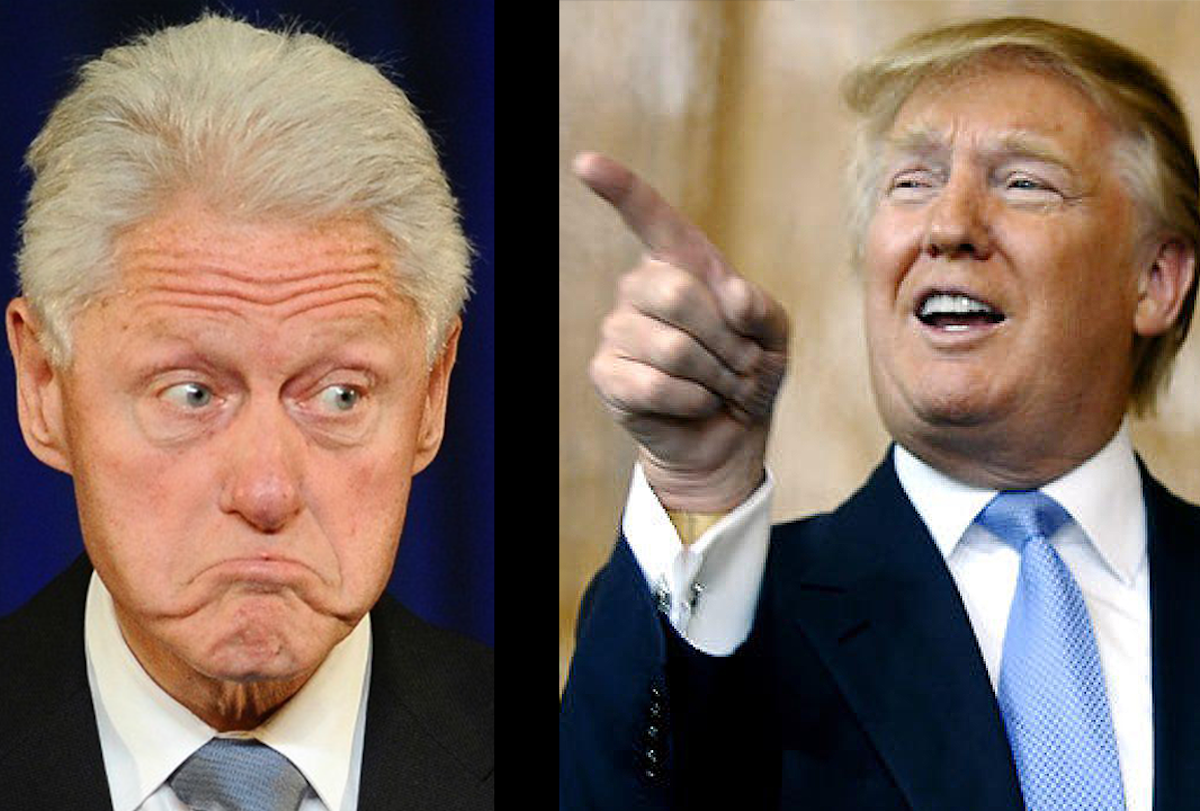 [Watch] Trump Got His Immigration Stance From, None Other Than, BILL CLINTON