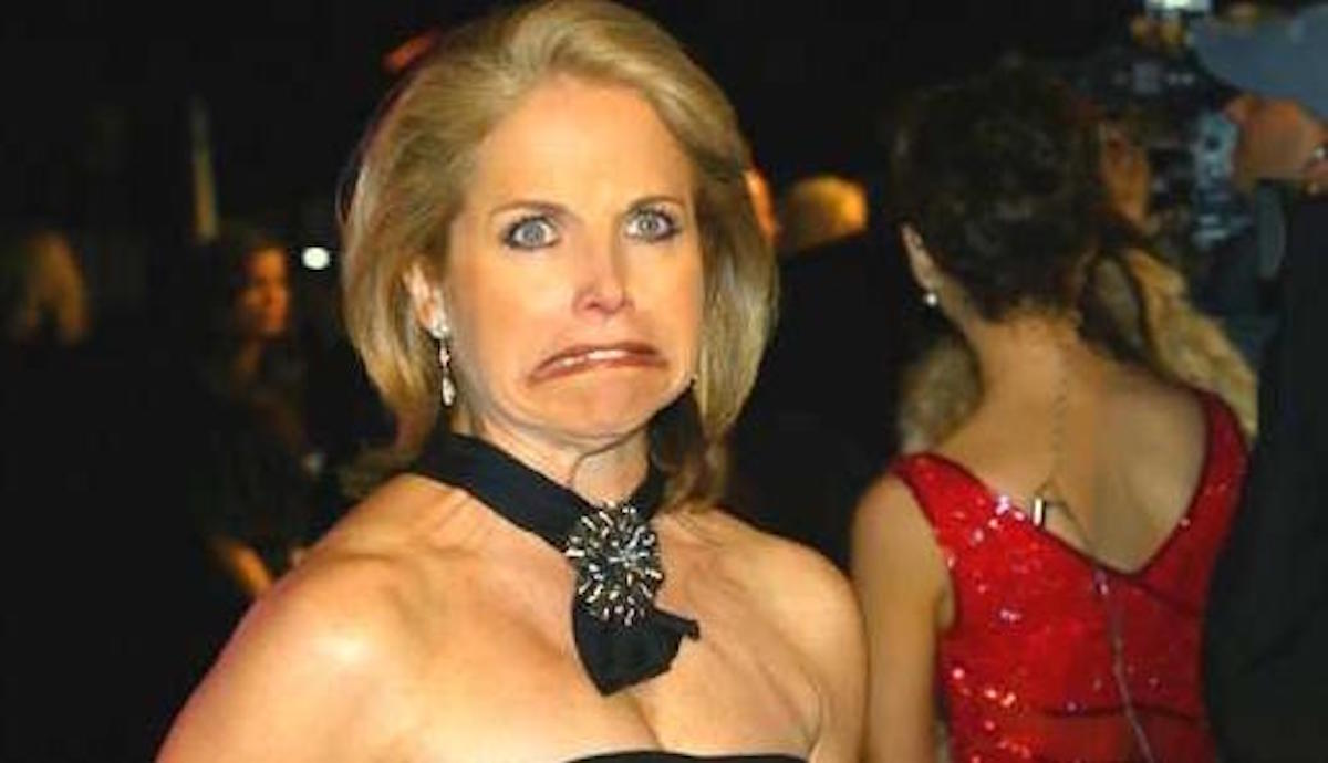 """OOOOOPS: Katie Couric Mea Culpa ... So Sorry For The """"Misleading"""" Edit! My Bad!"""
