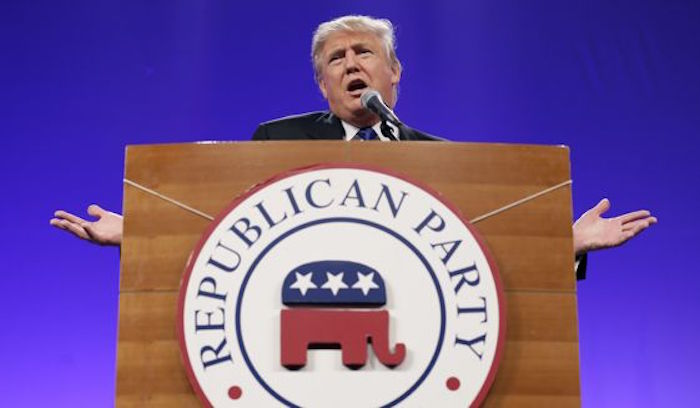 "The Republican Party Chair Sees Trump As The ""Presumptive"" Nominee"