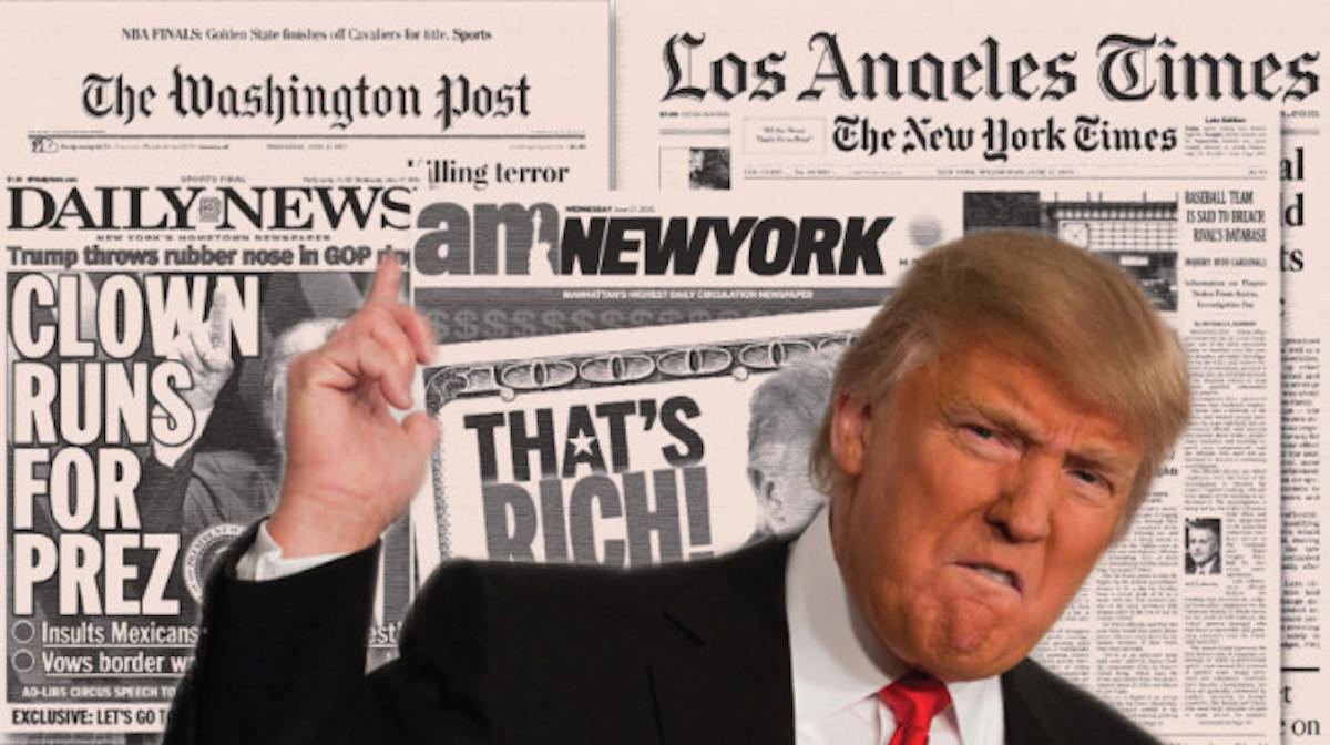 [SMACK! VIDEO] Trump Holds Presser To Smack Down Lying, Dishonest Media On Veterans Donations!