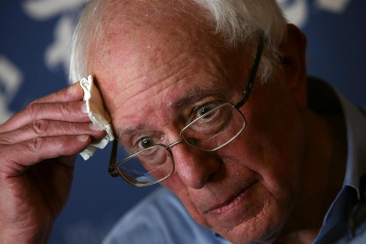 UH-OH! Bernie Can't Answer This Leftist, Socialist, Media Question About ...