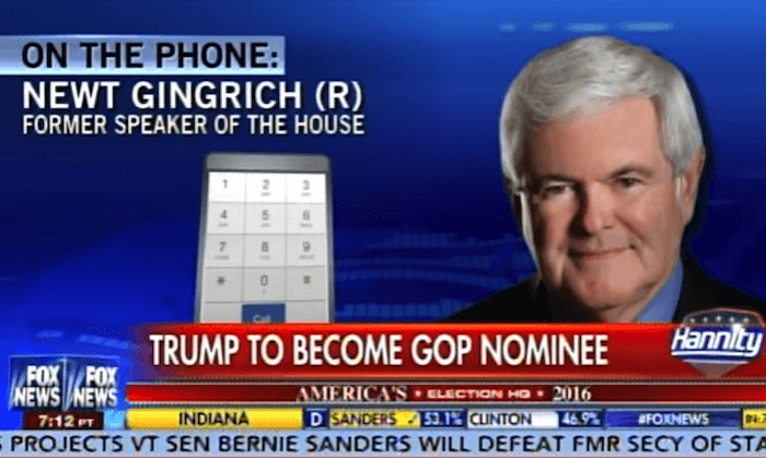 Listen To Newt: Trump Could Be Best Anti Left Leader Of Our Time