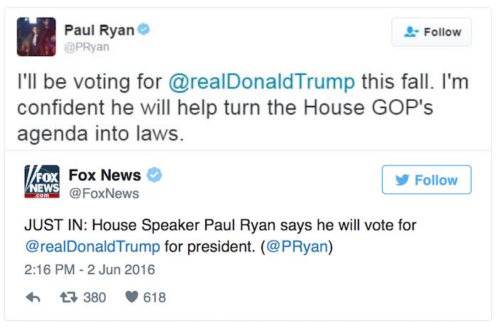 Trump's Biggest Sceptic Gives His Endorsement!