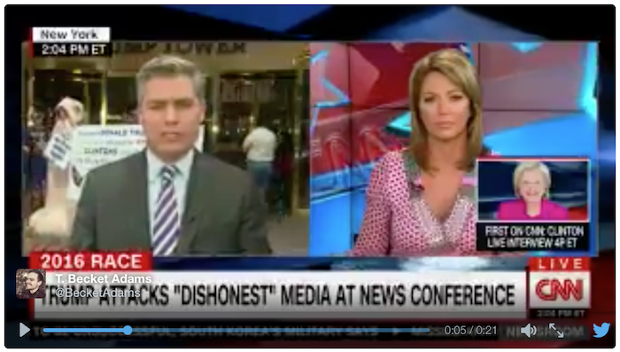 [VIDEO] Dancing Penis On CNN Live Broadcast