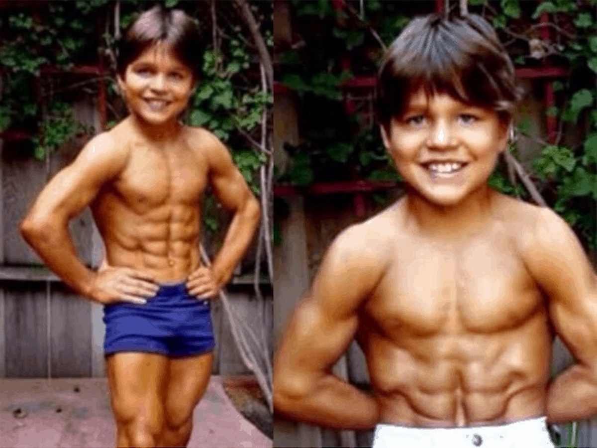 Here's What Child Body Builder 'Little Hercules' Looks Like All Grown Up!