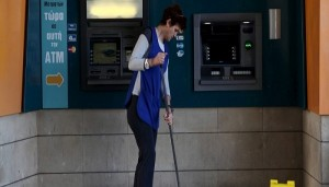 A cleaning lady mops the floor in front of an ATM outside a branch of the Bank of Cyprus in Nicosia, Cyprus March 7, 2016. A cleaning lady mops the floor in front of an ATM outside a branch of the Bank of Cyprus in Nicosia, Cyprus March 7, 2016. REUTERS/Yiannis Kourtoglou