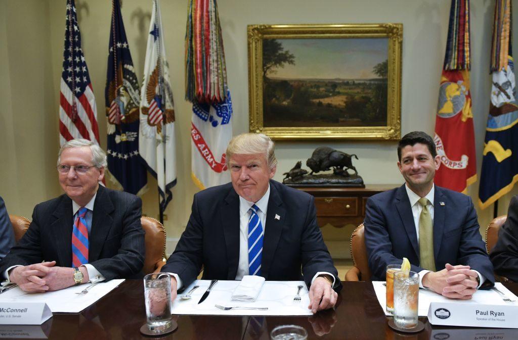 Trump and 2 liberals