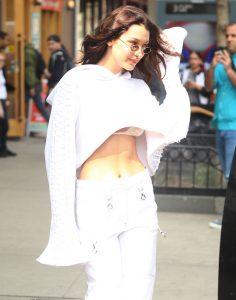 Bella Hadid sighting, NYC