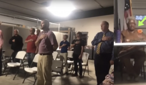 VOTE HER OUT! Dem County Chairwoman Bans Pledge During Meetings, Threatens Patriots Who Refuse