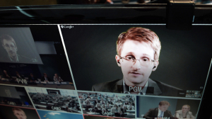 US National Security Agency NSA whistleblower Edward Snowden (AFP Photo / Frederick Florin)