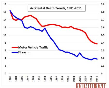Accidental Death Trends