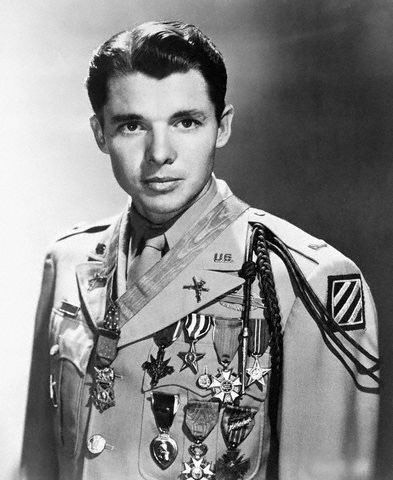 Audie Murphy, photo credit: Biography.com