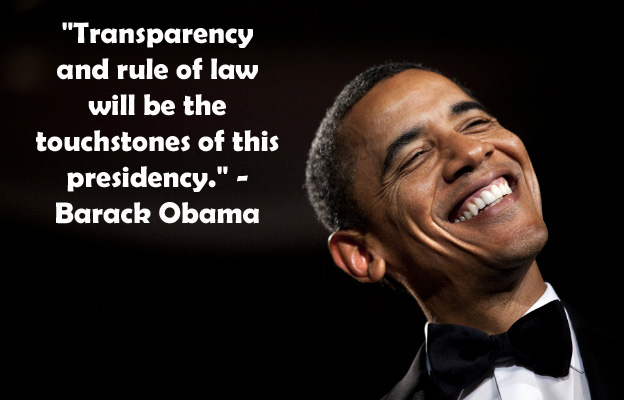 TRANSPARENCY? Obama Administration Reportedly 'Blocking' Information From Press