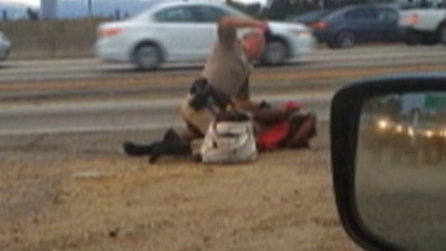 Woman punched on film by California Highway Patrol officer reaches $1.5M settlement