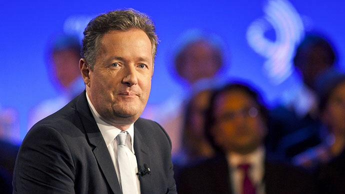 Piers Morgan (AFP Photo / Ramin Talaie)