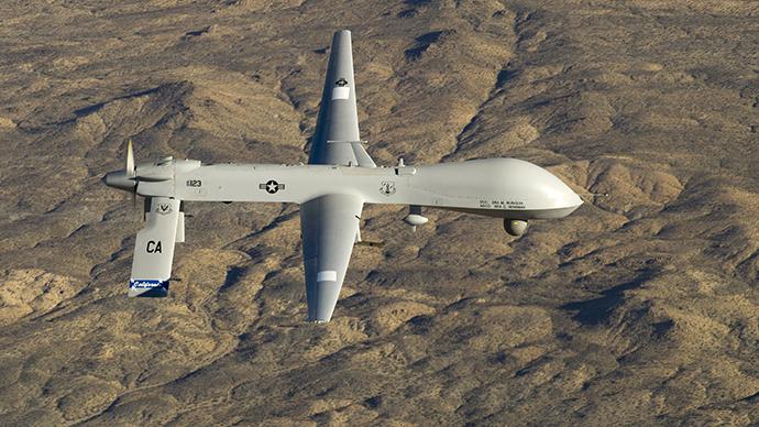 A U.S. Air Force MQ-1 Predator unmanned aerial vehicle (Reuters / U.S. Air Force / Tech. Sgt. Effrain Lopez)
