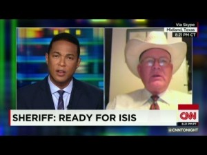 """Vigilant Texans preparing for ISIS. """"If they rear their ugly heads, we'll send them to hell!"""""""