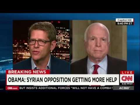 [WATCH] JOHN MCCAIN B*TCH SLAPS JAY CARNEY IN CARNEY'S FIRST CNN APPEARANCE