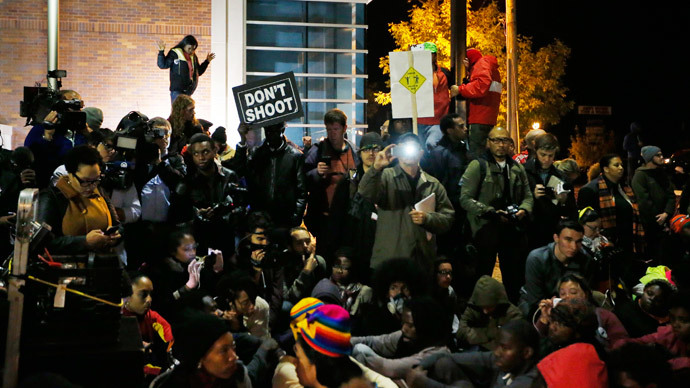 [VIDEO] 'Justice For Everyone!' Thousands Protest Against Police Brutality In St. Louis, Ferguson