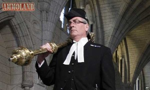 Canadian Sergeant at Arms and National Hero Kevin Vickers