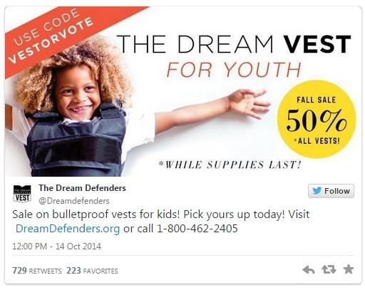 [WATCH] Florida Ad Depicts Black Child In Bulletproof Vest, Urging Voters 'Vest or Vote'