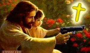 Jesus-Teaching-Gun-Safety