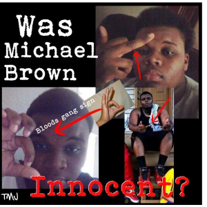 Was Mike Brown innocent? No more than Trayvon Martin was.