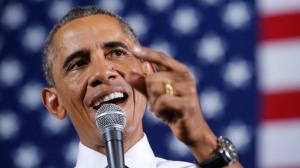 U.S. President Barack Obama.(Reuters / Kevin Lamarque)