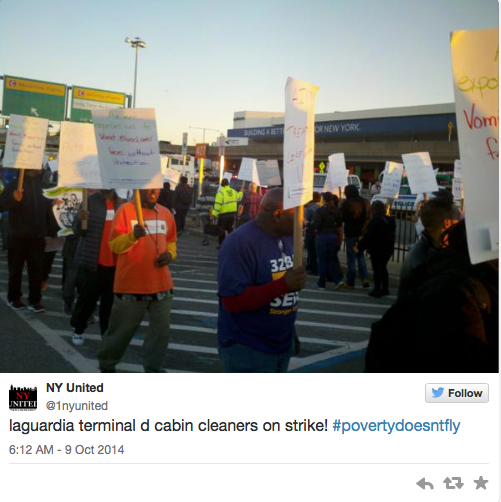STRIKE: LaGuardia Workers Refusing to Work In Fear of Ebola-ravaged Countries