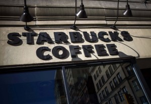 A Starbucks store is seen in New York January 24, 2014. (REUTERS/Eric Thayer)