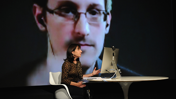 SNOWDEN: When you say, 'I have nothing to hide,' you're saying, 'I don't care about this right'