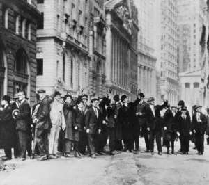 © AP Predictors of 1929 crash sees a 65% chance of 2015 global recession