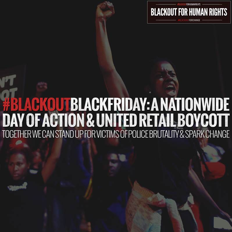 [VIDEO] Hollywood Stars Join 'No Justice, No Profit' Online Campaign #BlackoutBlackFriday