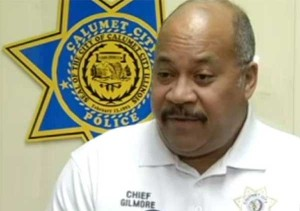 Calumet City Police Chief, Edward L. Gilmore