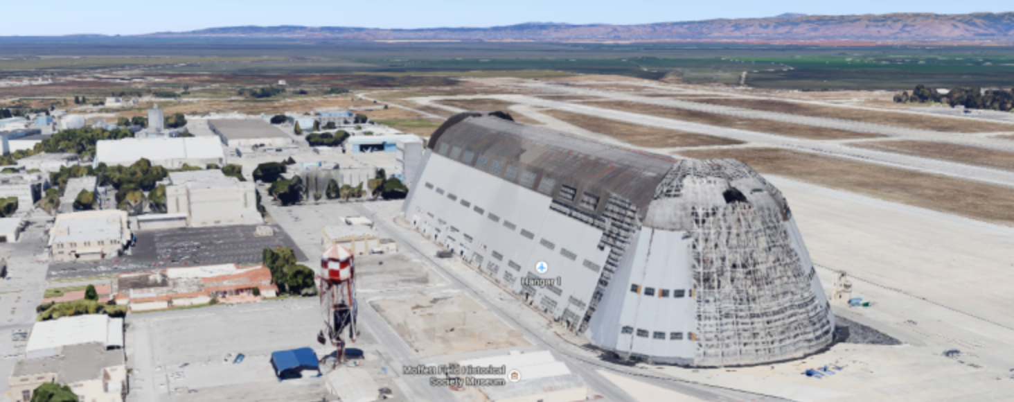 Mystery: NASA Hands Over Operations of Major Airfield to Google for Next 60 Years…