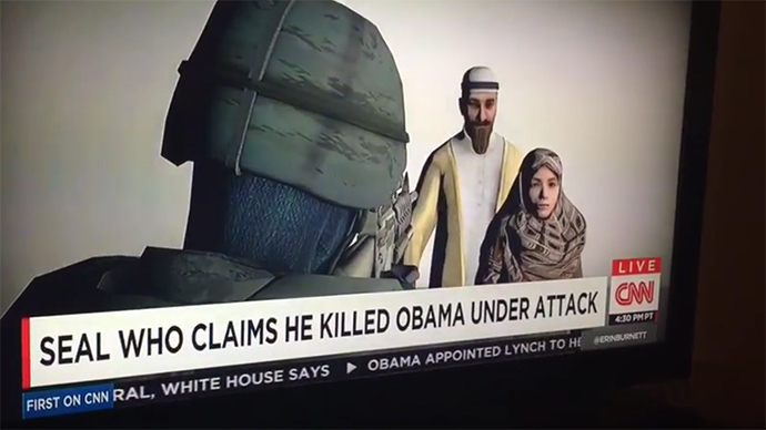 """TWITTER IN STITCHES, after CNN Typo That Claims """"Navy SEAL Killed Obama"""""""