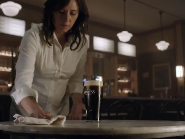 Happy Thanksgiving! Best holiday commercial so far. Guinness empty chair