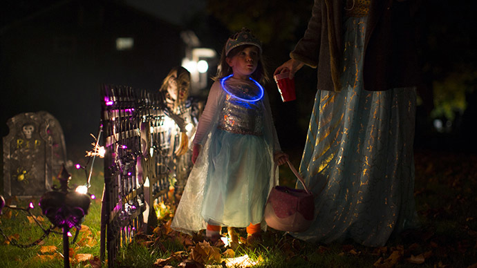 TRICK-NOT-TREAT: Crystal Meth Given To 8-Year Old California Girl With Halloween Candy
