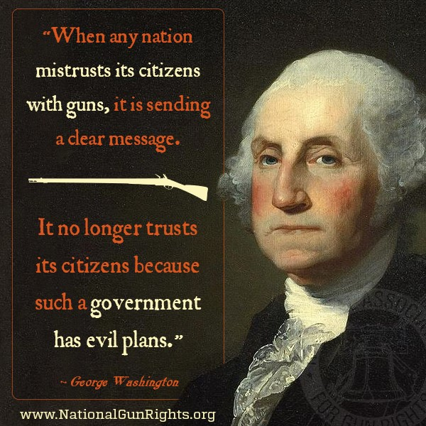 Any government that opposes a citizenry with guns has evil plans. It is that simple!