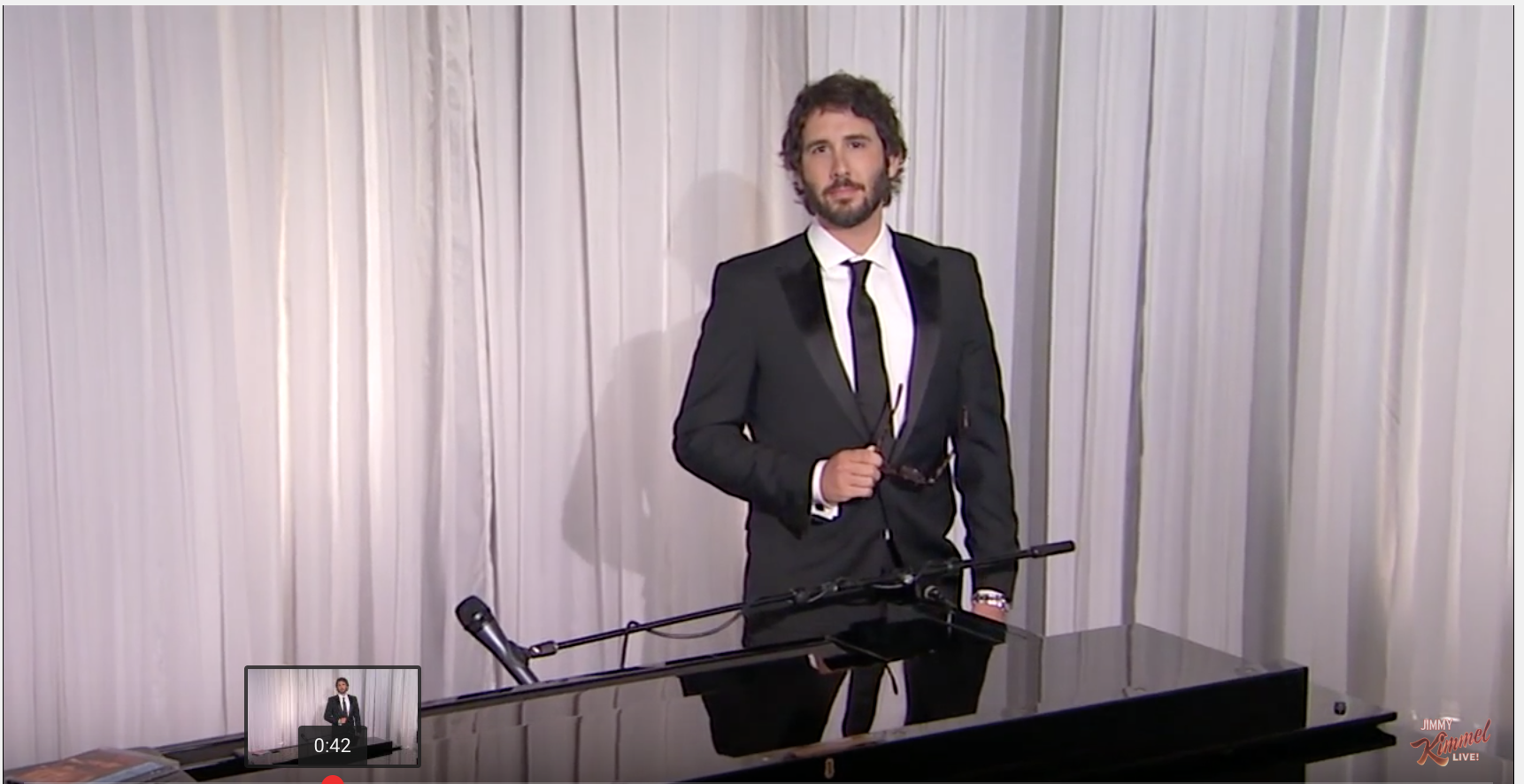 VIDEO: This Is Just Funny! Josh Groban Sings Donald Trump's Tweets